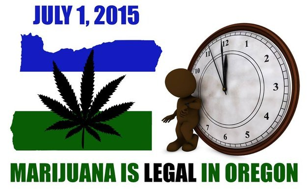 Facebook Post from Portland NORML.