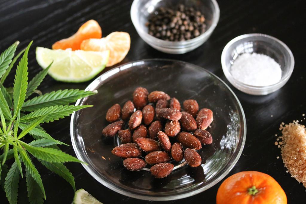 Star-Nosed Mole's Citrus Almonds -- Vegan Marijuana Edibles