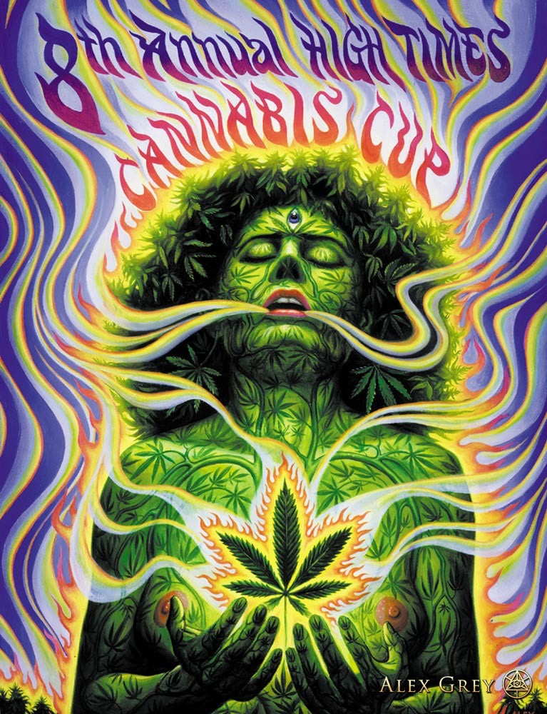 Alex Grey 1995 Cannabis Cup Photo