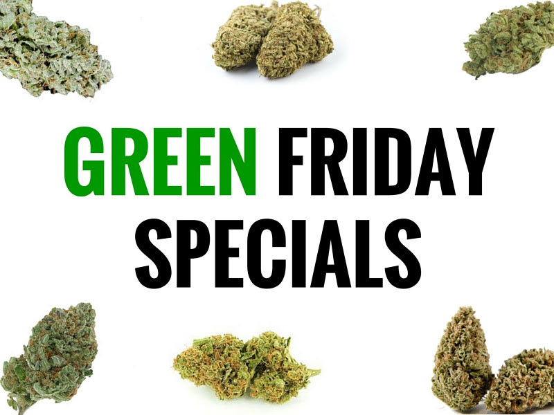 2015 California Green Friday Cannabis Deals