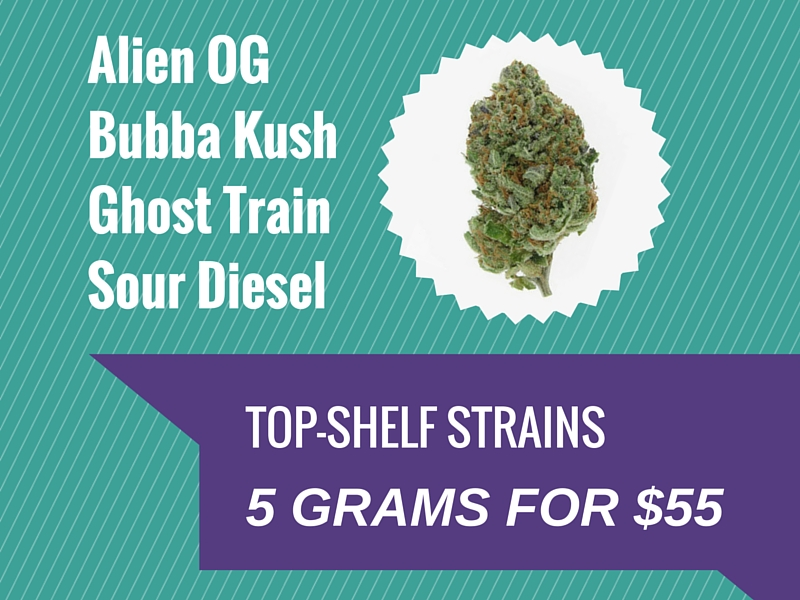 Cali Kush Green Friday Cannabis Deal