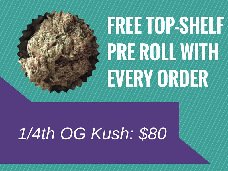 Flash Buds Green Friday Cannabis Deal