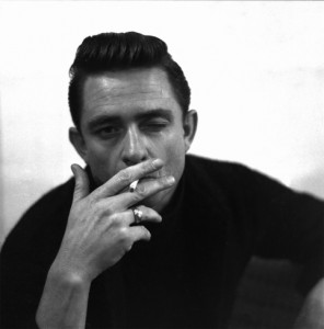 Johnny Cash Smoking