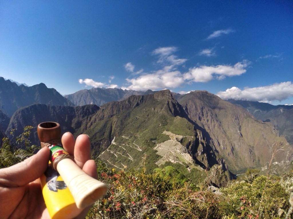 Machu Picchu Marijuana Smoke Spot