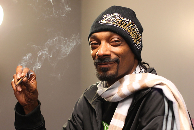 Snoop Dogg Might Be THE Celebrity Stoner