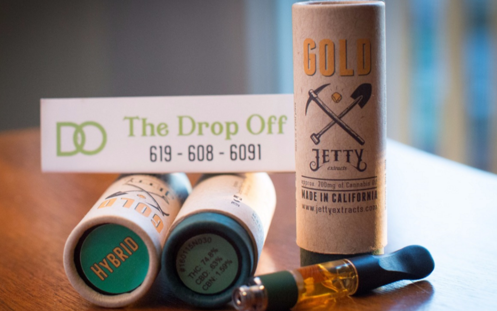 Jetty Gold Series Cartridge - Drop Off Marijuana Dispensary