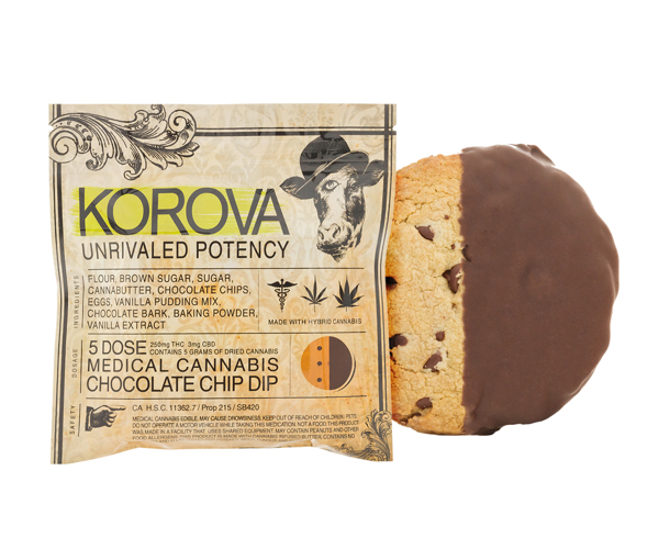 Korova Edibles Chocolate Chip Dip