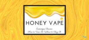 honey vape cartridge