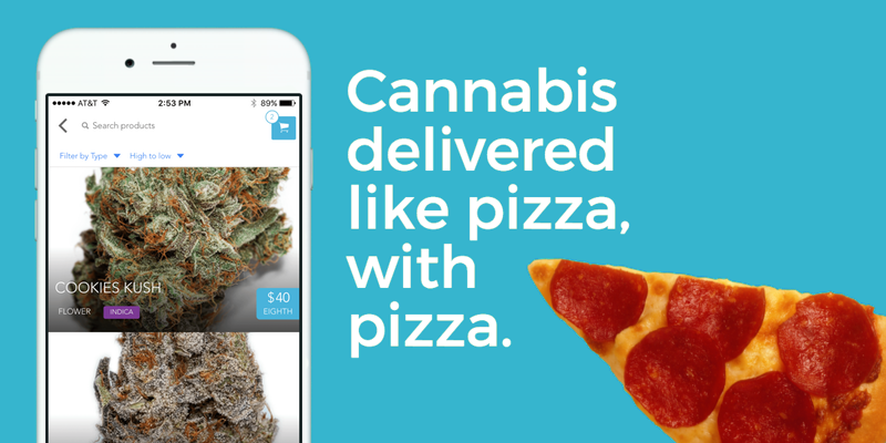 Cannabis & Pizza Delivered