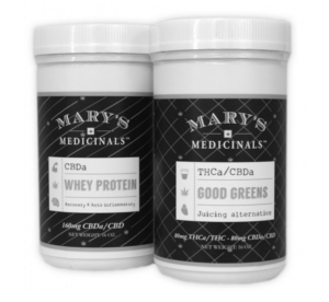 Mary's Medicinals Green and Protein Powder Mixes