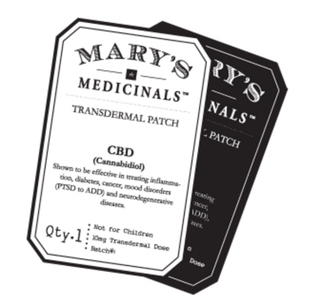 Mary S Medicinals Review Transdermal Patch Cbd Capsules More