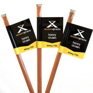 AbsoluteXtracts THC Honey Straws