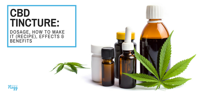 CBD Tincture: Dosage, How to Make It (Recipe), Effects & Benefits | Nugg