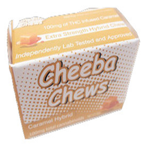 Cheeba Chew Caramel Chew Hybrid