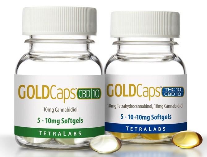 TetraLabs PureGold CBD Capsules