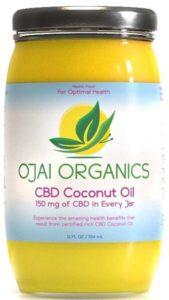 Ojai organics CBD coconut oil skin care