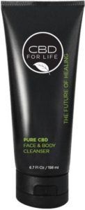 CBD Oil For Life Face and Body Cleanser skin care