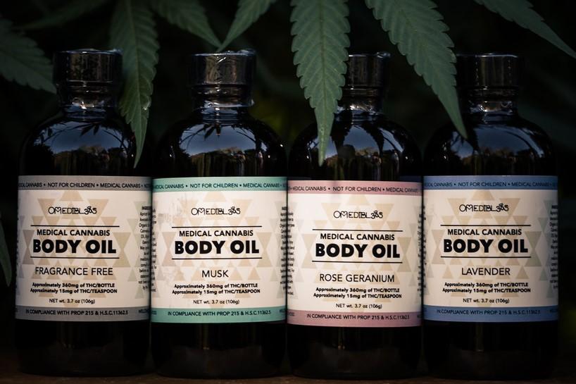 Body Oil Om Edibles