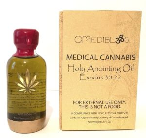 Holy Anointing Oil Om Edibles