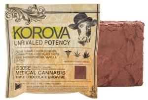 Brownie Korova Triple Chocolate
