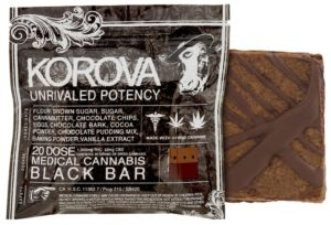 Brownie Korova Black Bar