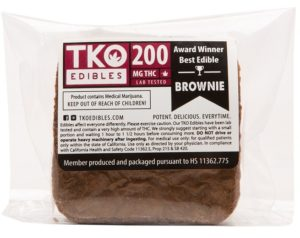 Brownies TKO Edibles Classic Brownie