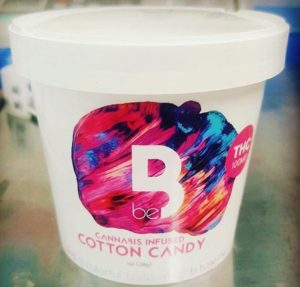 edibles cotton candy