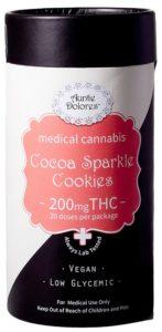 Cocoa Sparkle Cookies Auntie Dolores