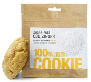 CBD Zinger Cookies