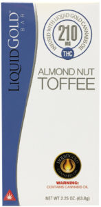 Bar Liquid Gold Almond Nut Toffee