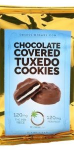 Chocolate Covered Tuxedo Cookies