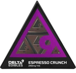 Espresso Crunch Bar Delta 9