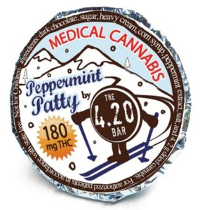 Peppermint Patty 180mg chocolates