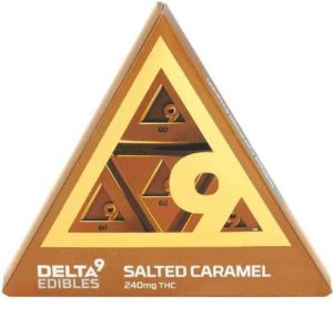 Salted Caramel Bar Delta 9