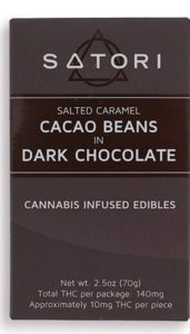 Salted Caramel Cacao Beans in Dark Chocolate chocolates