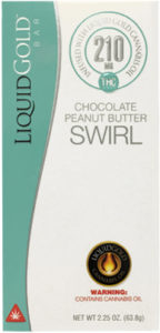 Bar Liquid Gold Chocolate Peanut Butter Swirl