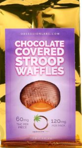 Chocolate Covered Stroop Waffles Cookies