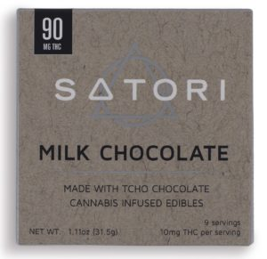 90 Satori Milk Chocolate Bar