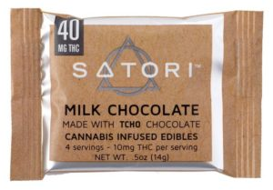 40 Satori Milk Chocolate Bar