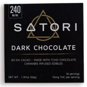240 Satori Dark Chocolate Bar