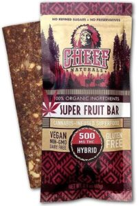 Super Fruit Bar healthy edibles