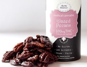 Glazed Pecans healthy edibles