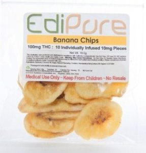 banana chips healthy edibles