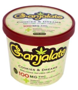 Cookies & Dreams Infused Gelato 100
