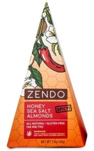 honey Spicy Sea Salt almonds healthy edibles
