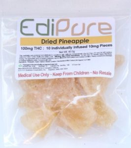 dried pineapple healthy edibles