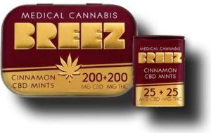Breez CBD mints