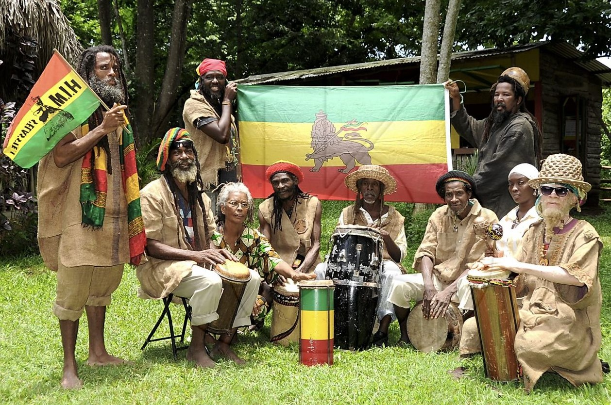 Rastafarian stereotype rasta village