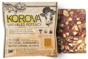 cake bars Korova Salted Caramel