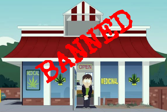 dispensary bans